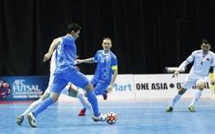 Futsal VN dừng chân ở tứ kết Giải châu Á