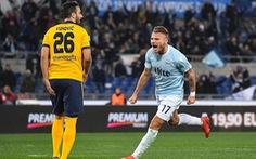 Điểm tin sáng 20-2: Lazio đẩy Inter khỏi tốp 4