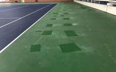 """VTF """"khóc"""" vì sân đấu Davis Cup không đạt chuẩn"""