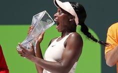 Đánh bại Ostapenko, Stephens vô địch Miami mở rộng 2018