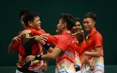 Đánh bại Qatar, quần vợt VN lên nhóm II Davis Cup