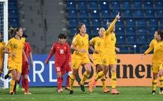 Tuyển nữ VN thua đậm Úc 0-8
