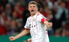 Mueller lập hat-trick, B.M vào CK Cúp quốc gia Đức