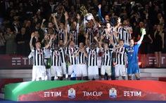 Đè bẹp Milan, Juventus đoạt Cúp quốc gia Ý
