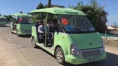 Ô tô điện thân thiện môi trường trên đảo Lý Sơn