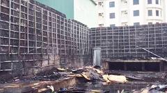 Cháy quán bar đang tháo dỡ ở Nghệ An do tàn thuốc lá