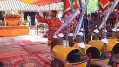 Trang nghiêm lễ khao lề thế tri ân hùng binh Hoàng Sa ở đảo Lý Sơn