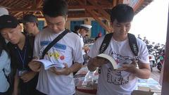 Đưa hàng ngàn cuốn sách đến gần với các bạn học sinh, sinh viên