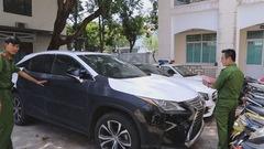 Bắt nhóm trộm liên tỉnh trộm xe Lexus ở Đà Nẵng