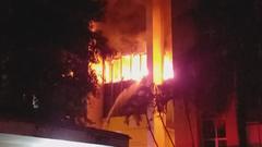 Video: Cháy lớn tại tòa nhà dầu khí, 2 người chết, 13 người nhập viện
