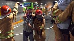 Video: 300 người diễn tập tình huống 'hít phải khói độc' trong hầm Thủ Thiêm
