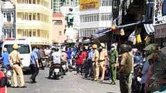 Video: Nữ trưởng ban quản lý chợ Kim Biên bị bảo vệ đâm chết