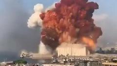 Video: Khoảnh khắc kinh hoàng của vụ nổ làm 78 người chết ở Lebanon