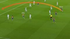 Video: Xem lại pha chuyền bóng một chạm 'đẳng cấp' của Messi