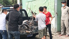 Video: Cháy khu trọ thiêu rụi 17 xe máy, 1 bé gái bị bỏng