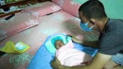 Video: Tìm thân nhân bé gái 4 tuần tuổi bị bỏ rơi tại khu đô thị ở Bình Phước