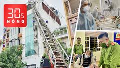 Bản tin 30s Nóng: Cứu 15 người trong căn nhà cháy ở Tân Bình; Mỗi tuần 50.000 người tử vong vì COVID-19