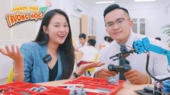 Khám phá trường học 2021: Tam Triều Dâng 'shock' vì ngoại ngữ 'đỉnh' của các bạn quốc tế Á Châu