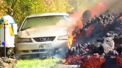 Video: Dung nham núi lửa tàn phá kinh hoàng ở đảo La Palma