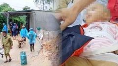 Video: Sạt lở đồi giữa đêm khuya, một cháu bé đang ngủ bị gạch đè gãy chân