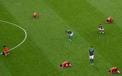 Hình ảnh trận Đức thua Hàn: Đâu rồi tinh thần thép?
