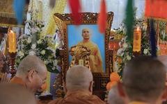 Người Huế đội mưa tiễn đưa cố đại lão hòa thượng Thích Trí Quang