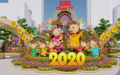 Đường hoa Nguyễn Huệ Tết 2020 có gì mới?