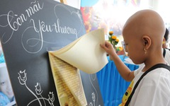 Xúc động với những lời ước nguyện và kỷ vật của bệnh nhi ung thư