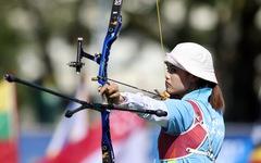 Ngắm các nữ cung thủ xinh đẹp của Việt Nam giành huy chương vàng