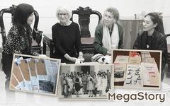 Những người phụ nữ và hành trình của những hiện vật hòa bình