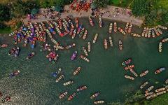 Sông núi hữu tình, hùng vĩ ở Lễ hội Tràng An 2019