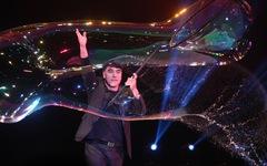 Vua bong bóng thế giới Fan Yang sẽ biểu diễn tại Đầm Sen
