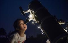 Ngắm nguyệt thực tại đài thiên văn lớn nhất miền Bắc