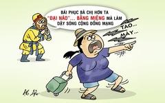 Hành khách 'đại náo' bằng miệng khiến Tề Thiên cũng phải bái phục