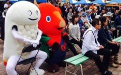 Linh vật kỳ quái Nhật Bản: Người lớn thích, trẻ em khóc thét sợ hãi