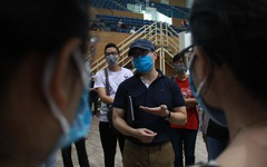 Vận hành thử bệnh viện dã chiến ở cung thể thao Tiên Sơn