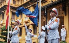 Lễ thượng cờ kỷ niệm 53 năm thành lập ASEAN