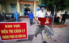 Hòa Bình tổ chức diễn tập bỏ phiếu bầu cử tại các điểm cách ly