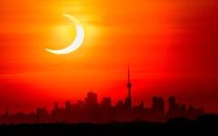 Chiêm ngưỡng ảnh chụp nhật thực 'vòng lửa' ngày 10-6