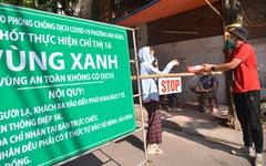 Những chốt bảo vệ 'vùng xanh không dịch' đầu tiên tại Hà Nội