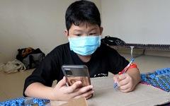 Học trực tuyến trong bệnh viện dã chiến