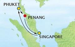 Tour du thuyền 5 sao Singapore
