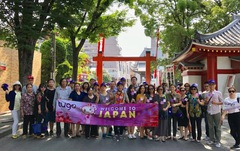 Lượt khách đi Nhật vượt chỉ tiêu: bước chinh phục thị trường Hà Nội của Tugo