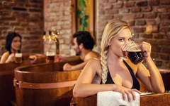 Đến Czech tắm bia xả stress