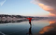 Vẻ đẹp tinh khiết của hồ Baikal và hồ Xanh