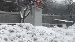 Video tuyết rơi dày đặc ở Thường Châu