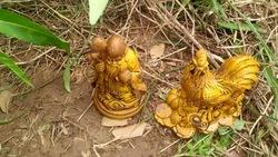 2 tượng đào được trên ruộng là vàng thật hay giả?