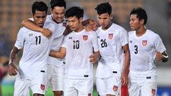 Cổ động viên Myanmar 'nổ' vang trời trước trận gặp tuyển Việt Nam