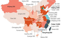 Muốn kiếm lì xì, nên tới tỉnh nào của Trung Quốc?