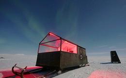 Ngủ đêm trên xe trượt tuyết và ngắm cực quang
